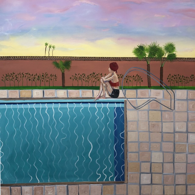 , 'The Diving Board,' 2019, Marc Straus