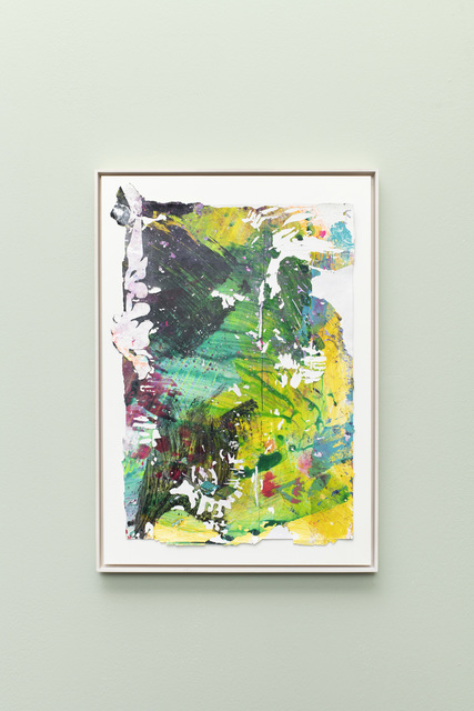 Tiziano Martini, 'Untitled #1', 2019, Drawing, Collage or other Work on Paper, Acrylics on paper, cardboard, wooden frame, OTTO ZOO