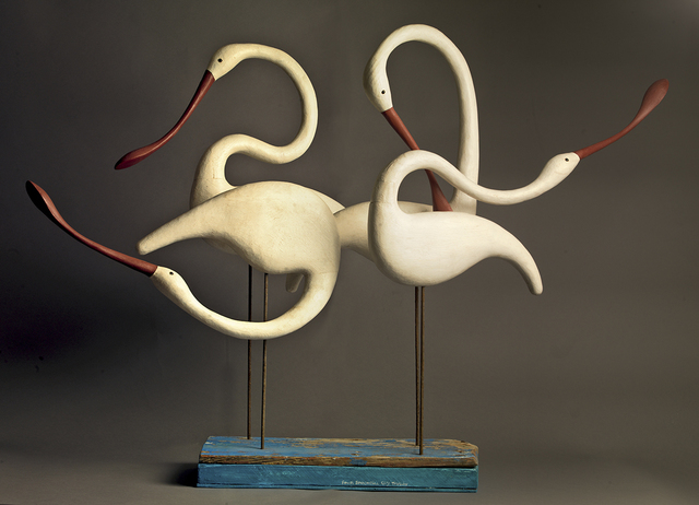 , 'Four Spoonbills,' , Dowling Walsh