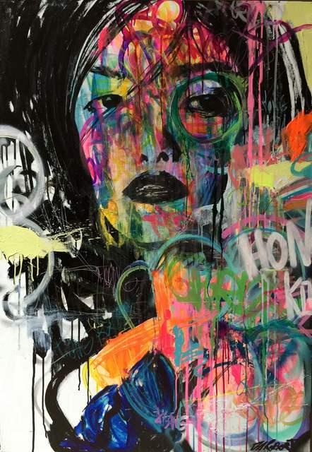 JM Robert, 'Que regarde t'elle', 2015, Painting, Art Supermarket