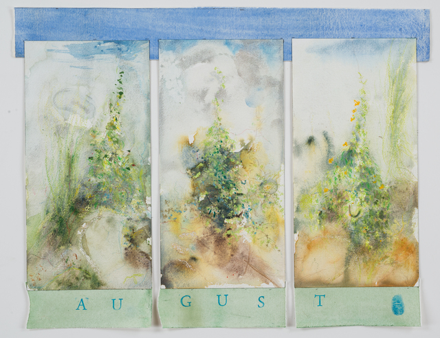 , 'August,' 2015, Reynolds Gallery