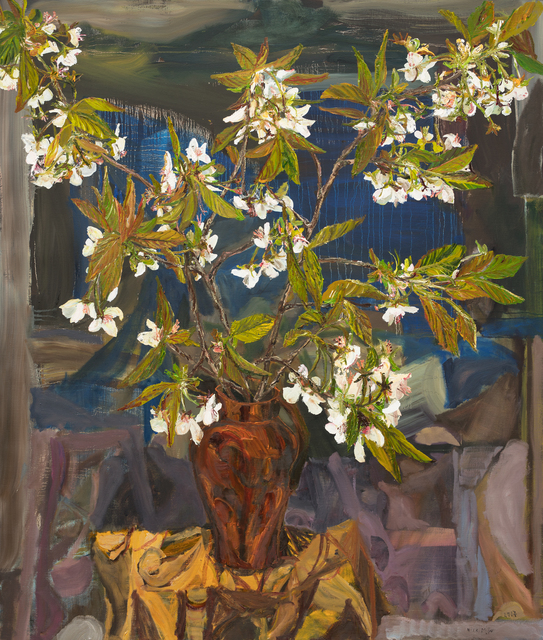 , 'White Cherry Blossom,' 2017, Oliver Sears Gallery