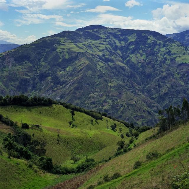 , 'Baños, Ecuador – Quilted Mountains,' 2010, InLiquid