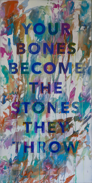 , 'Your Bones Become The Stones They Throw,' 2017, Rhodes