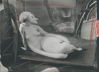 , 'Distortion #2,' Paris 1933, Johannes Faber