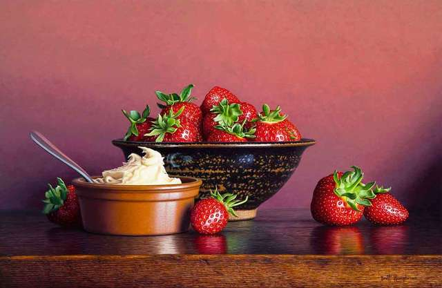 , 'Strawberries and Cream,' 2018, Catto Gallery