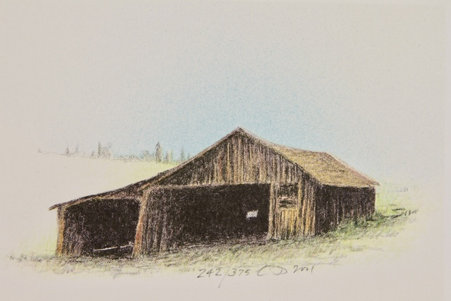 , 'OLD BARN,' 2001, Fitzwater Street Gallery