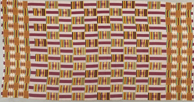 , 'Woman's Cloth (One of a Pair),' 1930-1980, Philadelphia Museum of Art