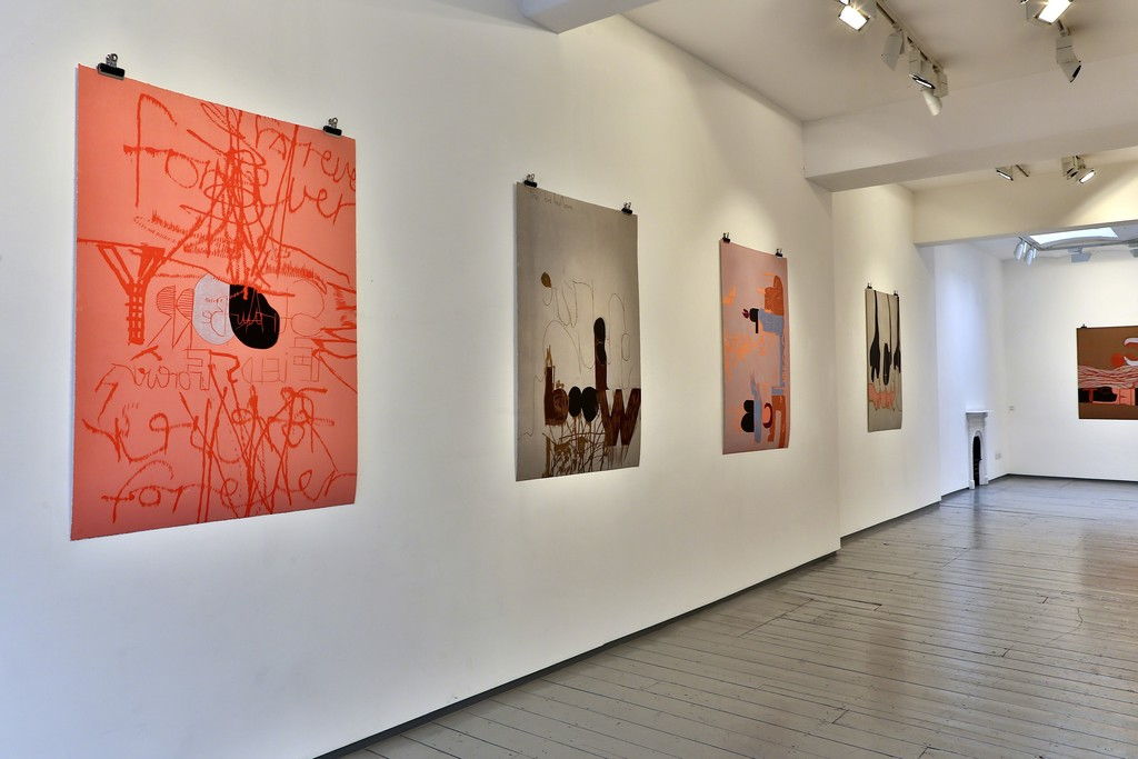 Installation at Paul Stolper Gallery - Magne Furuholmen - Norwegian Wood