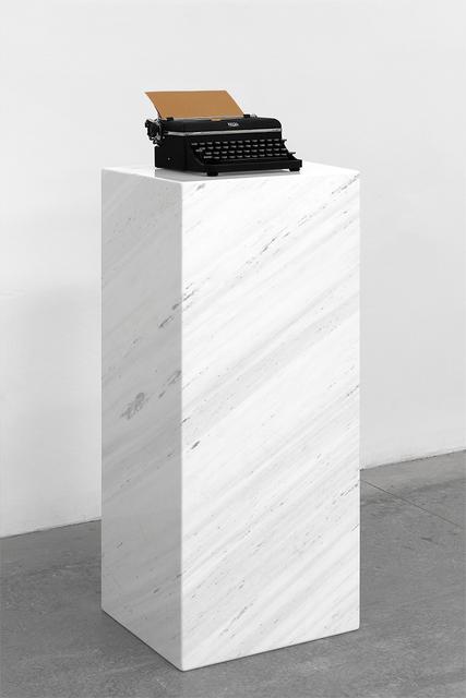 , 'Pausa (Terracota) / Pause (Terracotta),' 2017, Galería OMR