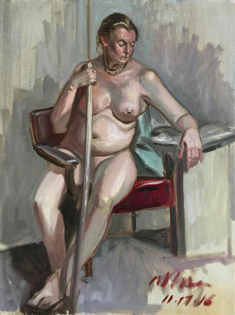 Marc Ross, 'Woman With Staff', 2016, Ro2 Art