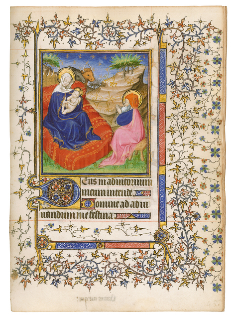 , 'Barbet Book of Hours, use of Paris,' 1400-1410, Dr. Jörn Günther Rare Books