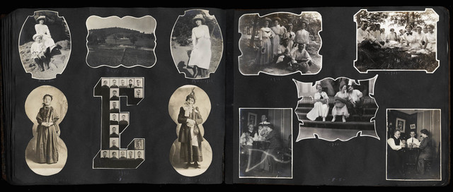 Sara G. Hooffstetter, 'Untitled [Shaped Photograph Family Album]', 1908-1916, The Walther Collection