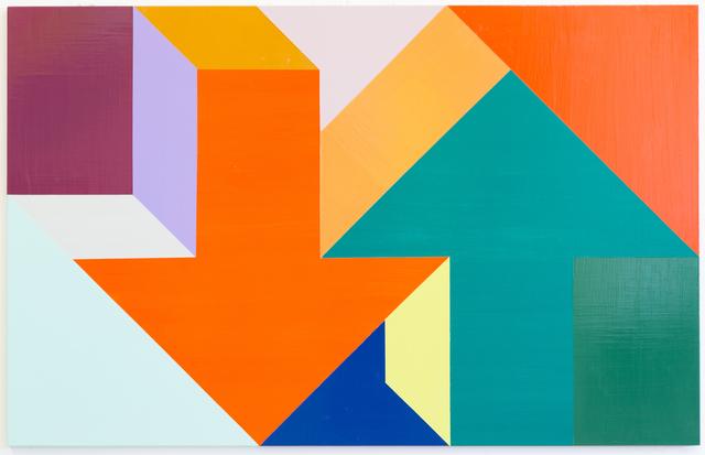 , 'Arrow Painting 13,' 2015, Kavi Gupta