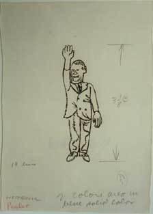 Ben Shahn, 'Westbrook Pegler', n.d., DC Moore Gallery