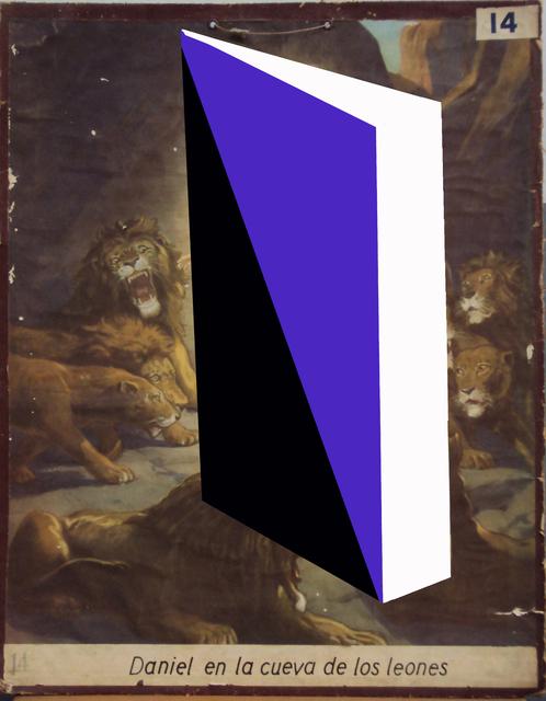 , 'Daniel en la cueva de los leones, de la serie Transfiguraciones ,' 2016, Galería Lucia de la Puente
