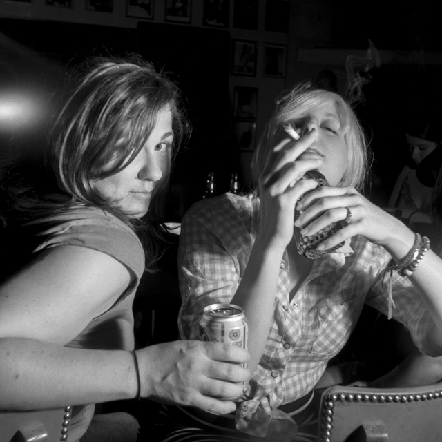Chad Schaefer, 'Millie and Hannah at the Poodle Dog Lounge, Austin, TX', 2008, Soho Photo Gallery