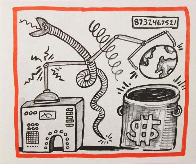 Keith Haring, 'Against All Odds, 20 Drawings', 1990, Rhodes
