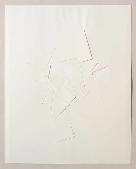 , 'Untitled Cut, D#6,' 1978, Bookstein Projects