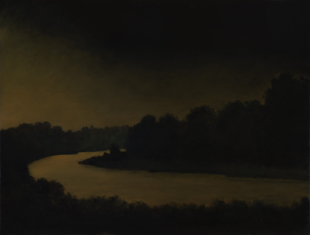 , 'Night River,' 2018, Sullivan Goss
