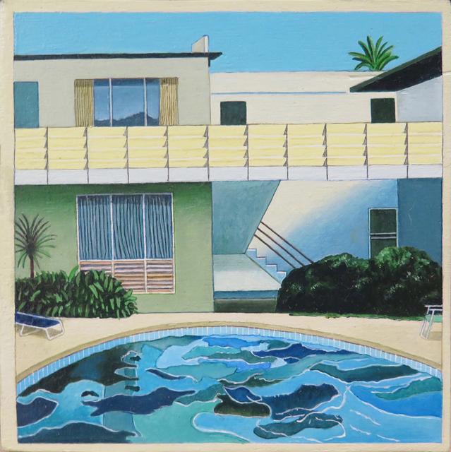 """, 'De la serie Desnudos (El eslabón perdido). David Hockney, """"Retrato de Nick Wilder"""",' 2016, Fernando Pradilla/El Museo"""
