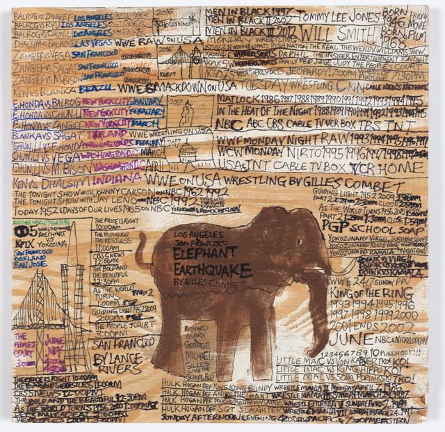 Daniel Green, 'Elephant Earthquake by Gilles Combet', 2016, Creativity Explored