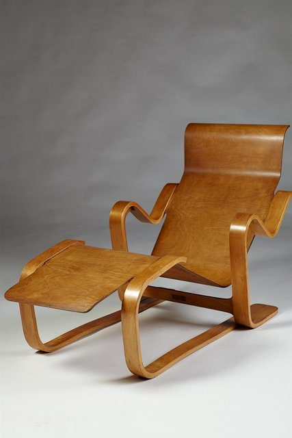 , 'Long chair,' 1936, Modernity