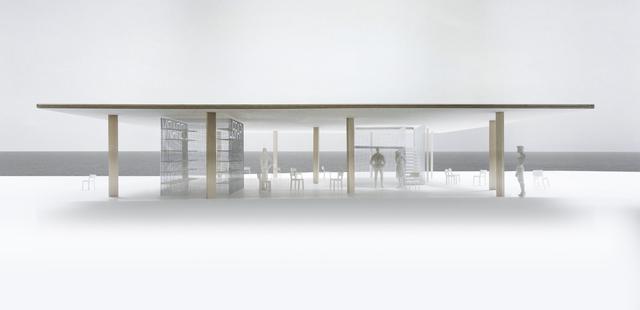 , 'Chicago Horizon,' 2015, Chicago Architecture Biennial