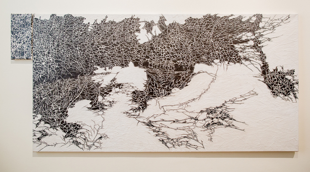 Nadia Kaabi-Linke, 'Spic and Span in June and July (Diptych)', 2017, Lawrie Shabibi