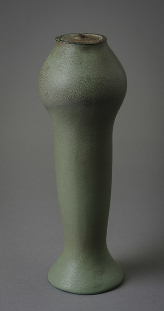 Van Briggle, 'Lamp Base in Matte Green', 1907, Hieronymus