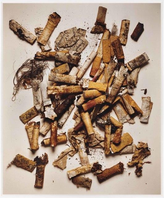 Irving Penn, 'Cigarettes, Street findings, New York', 1999, Christie's