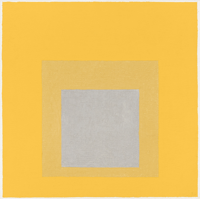 , 'Study for 'Homage to the Square: Early Resonance',' 1959, DICKINSON