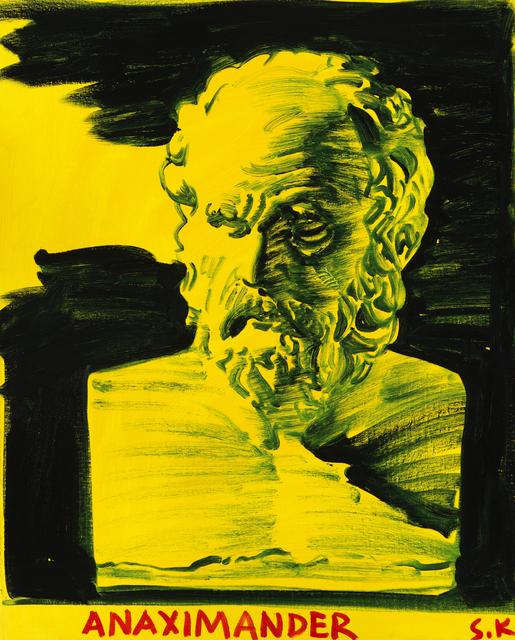 , 'Anaximander,' 2016, Cob