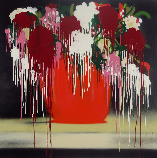 Thomas Buildmore, 'SoHo Flowers Red', 2013, Woodward Gallery
