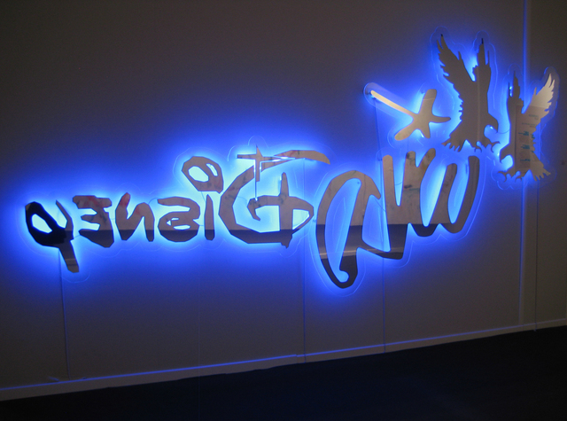 , 'Wild Disney (Blue),' 2011, Mario Mauroner Contemporary Art Salzburg-Vienna