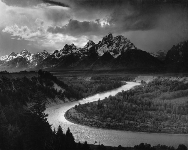 , 'The Tetons & Snake River, Grand Teton National Park, Wyoming,' 1942, Robert Mann Gallery