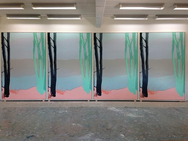 , 'Departure,' 2014, Galleri Susanne Ottesen
