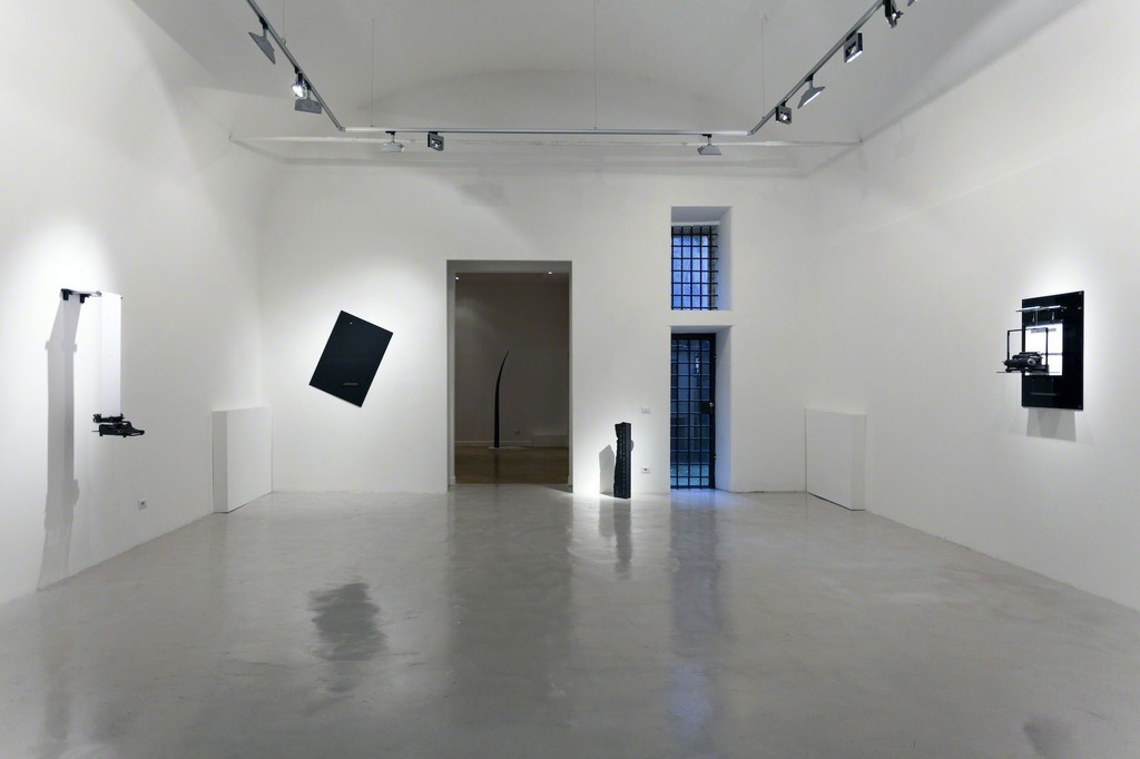 "Installation shot exhibition ""Degrees of Freedom"" - Emmanuele De Ruvo @ Montoro12 Contemporary Art"