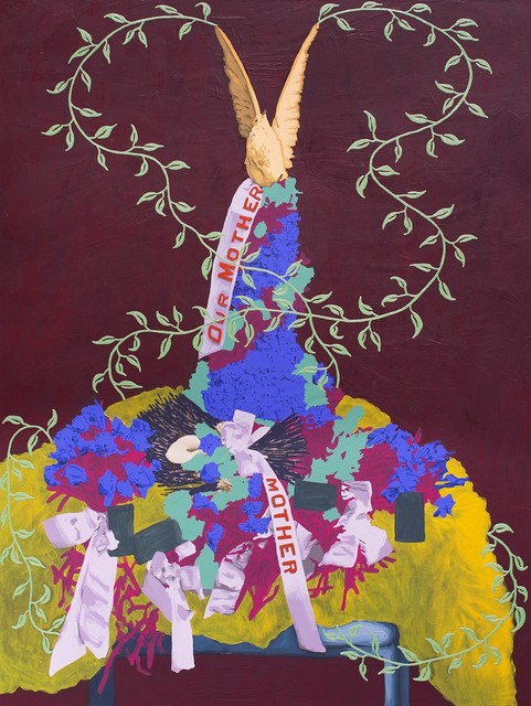 , 'Untitled (Dove + Fur),' 2017, k contemporary