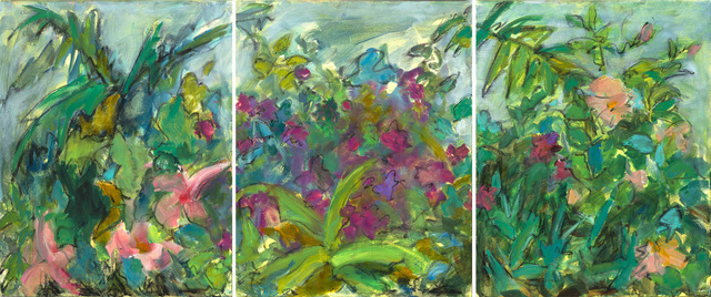 Mary Page Evans, 'Tropical Triptych', 2019, Somerville Manning Gallery