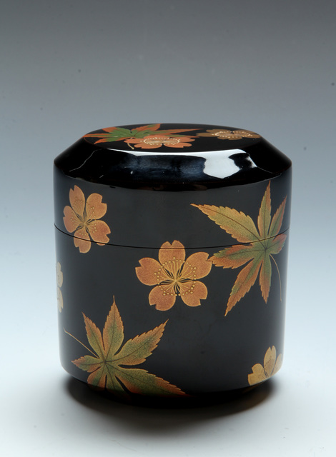 , 'Cherry and Maple Tea Caddy (T-3877),' Showa era (1926-1989) ca 1978, Erik Thomsen