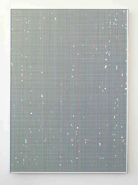 Gonzalo Reyes-Araos, 'Presence (#ACA8AB)', 2019, Painting, Oil on paper, mounted on aluminium composite sheet, LAGE EGAL