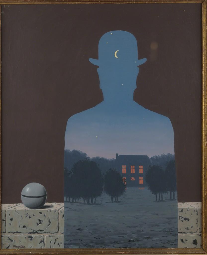 René Magritte L Heureux Donateur 1966