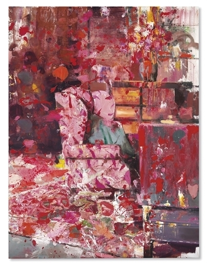 Adrian Ghenie, 'Pie Fight Interior 9', Christie's