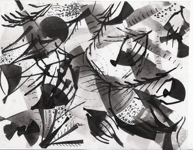 Patrick Tagoe-Turkson, 'M3nkronso, Kwesida (Palm Sunday)', ca. 2010, Print, Canvas, Nubuke Foundation (Ghana)