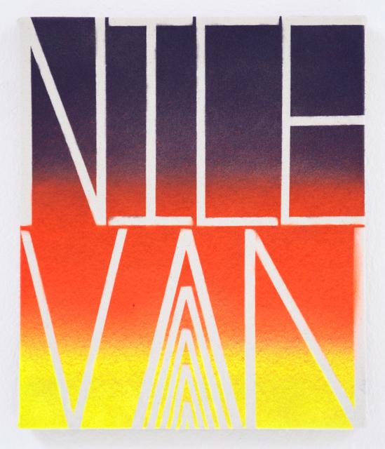 , 'Nice Van,' 2015, Pierogi