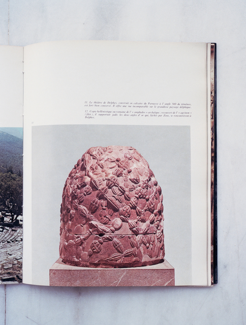 , 'Omphalos. Les musées grecs – Delphes, Ekdotike Athenon S.A., 1975,' 2018, PARISIAN LAUNDRY