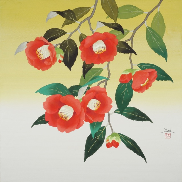 , 'Blooming Camellia,' 2018, SEIZAN Gallery