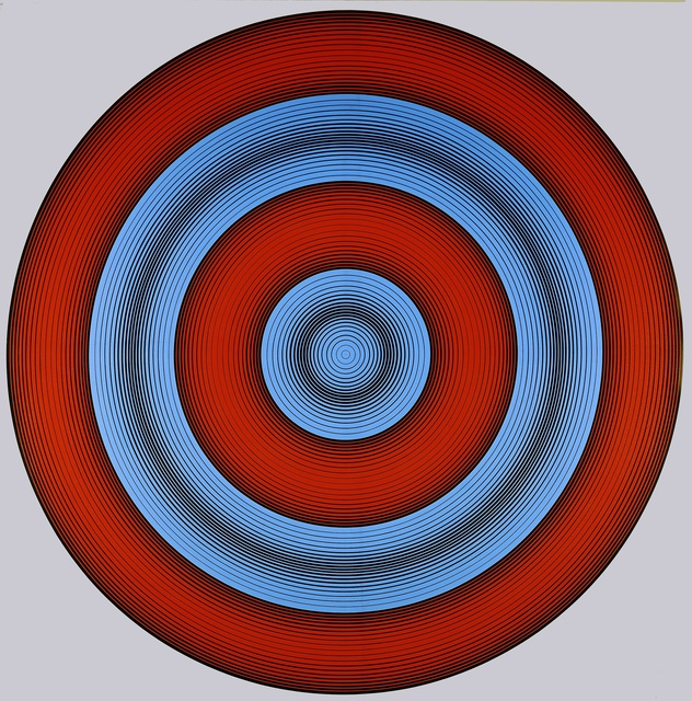 , 'D-128 (Red and Blue),' 1966, D. Wigmore Fine Art