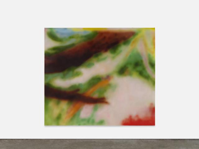 Yves Scherer, 'Anna Amiet in the Garden', 2020, Painting, Oil on canvas, Golsa